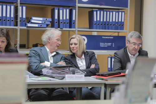 Didier Gosuin et Eliane Tillieux